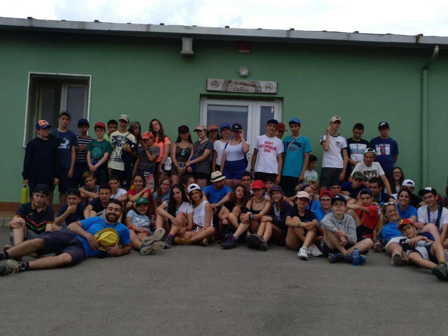 foto de grupo en Asturias