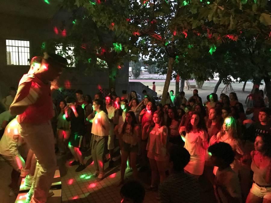 Baile en Salamanca