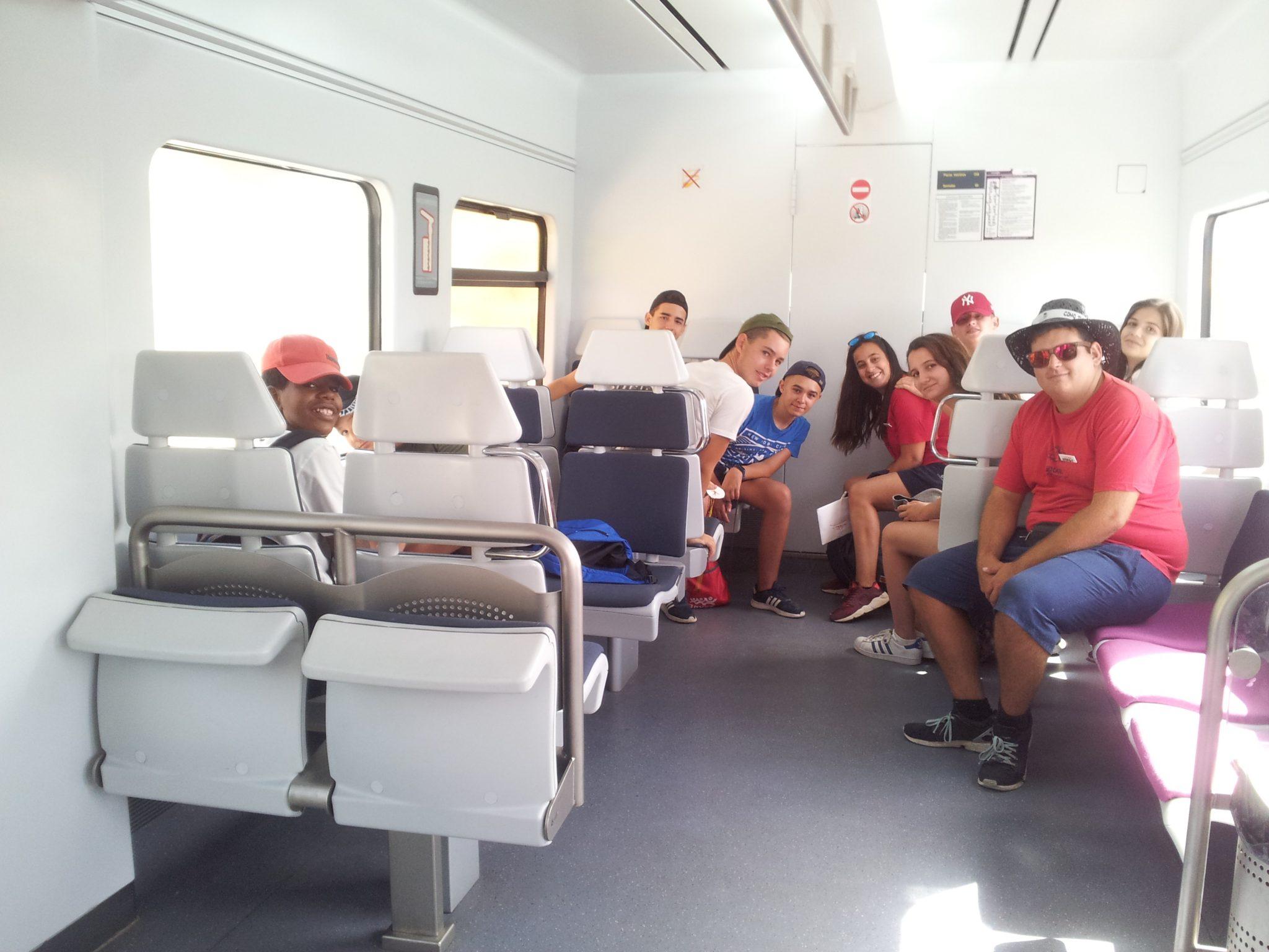 excursión en tren