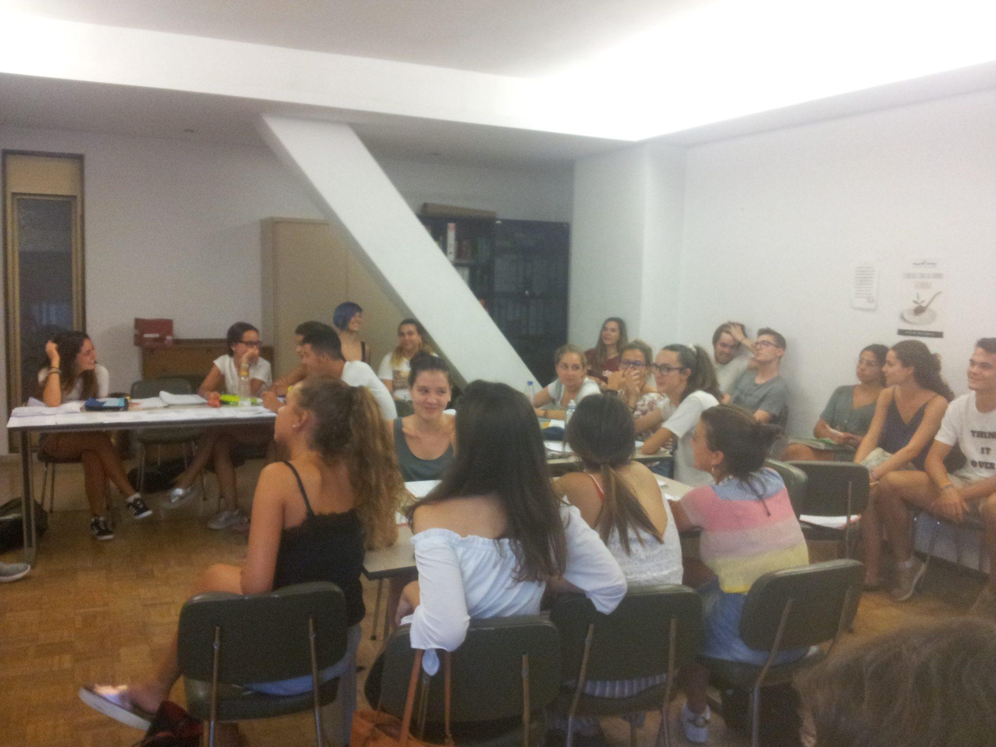 clases del curso de OTL en madrid