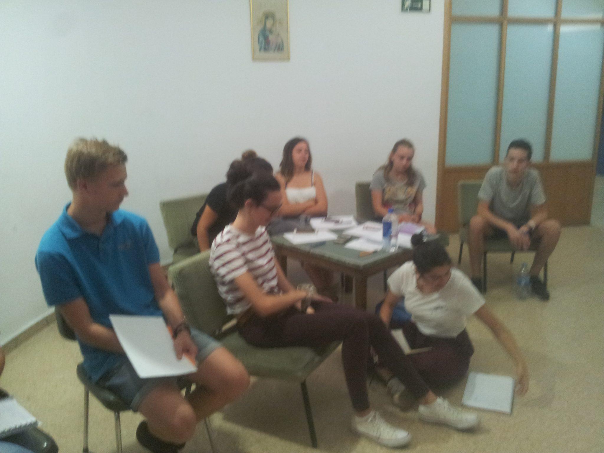 clases con el programa ofical de la comunidad de MAdrid del curso de MOTL