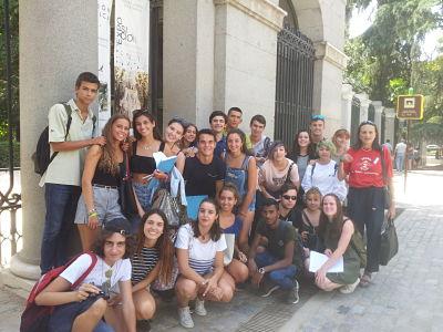 Botánico. curso monitor tiempo libre Madrid