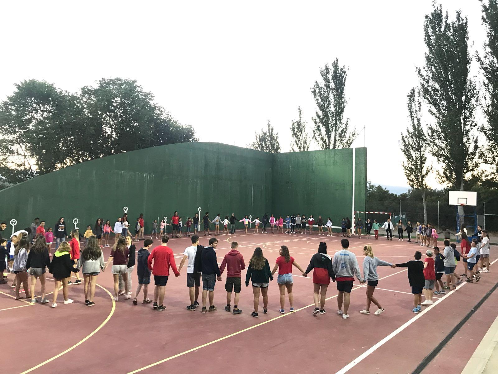 Deportes campamento de verano en Madrid