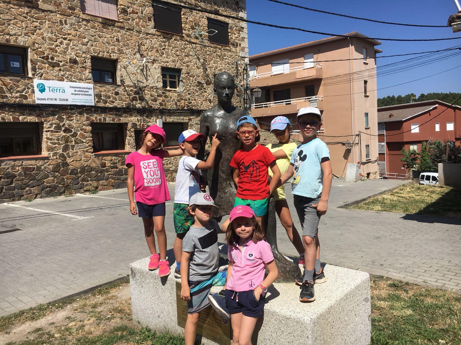 Visita Buitrago niños