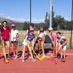 Actividad de hockey campamento de verano Madrid