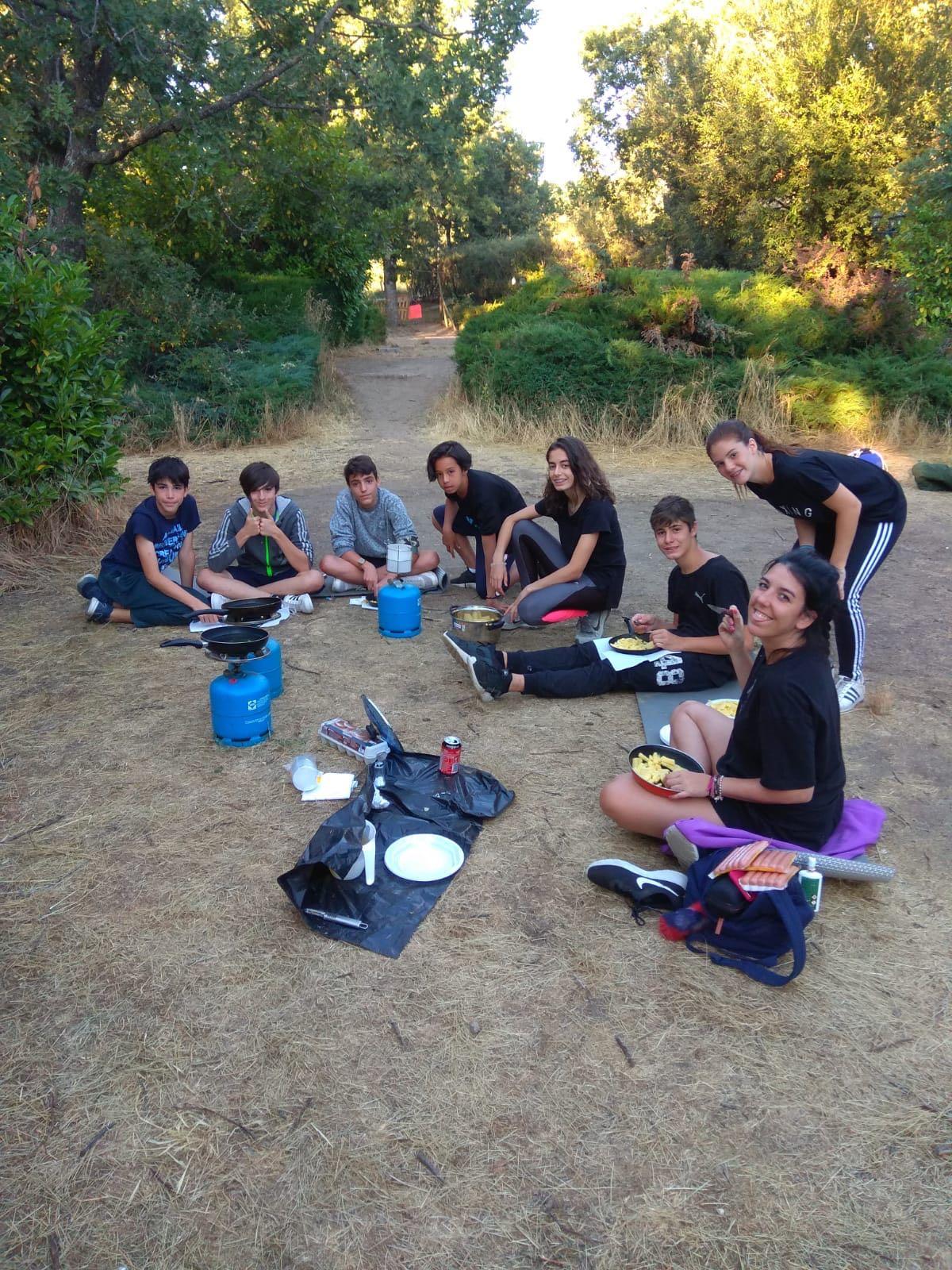 Supervivencia campamento