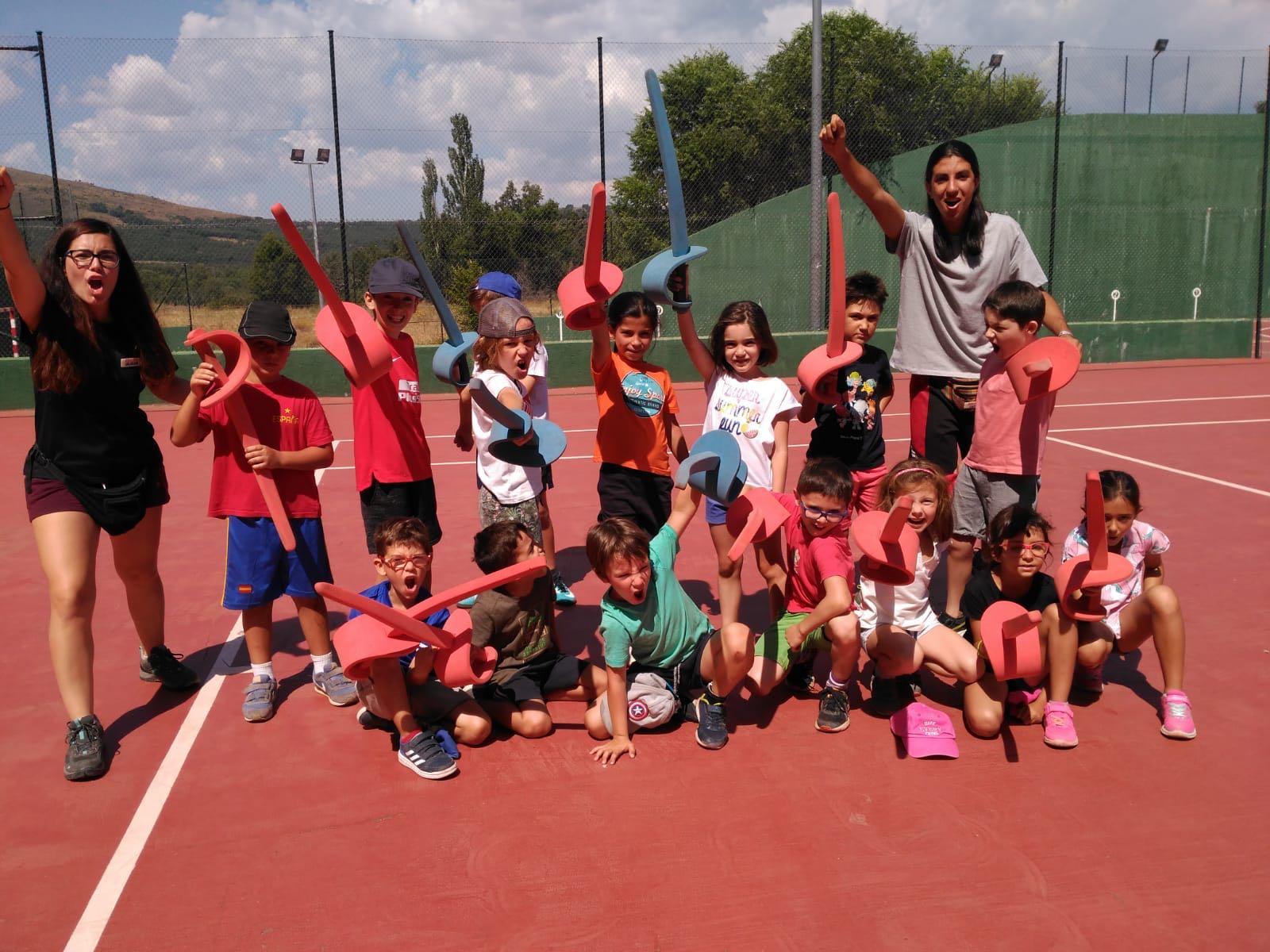 Esgrima campamento de verano en Madrid