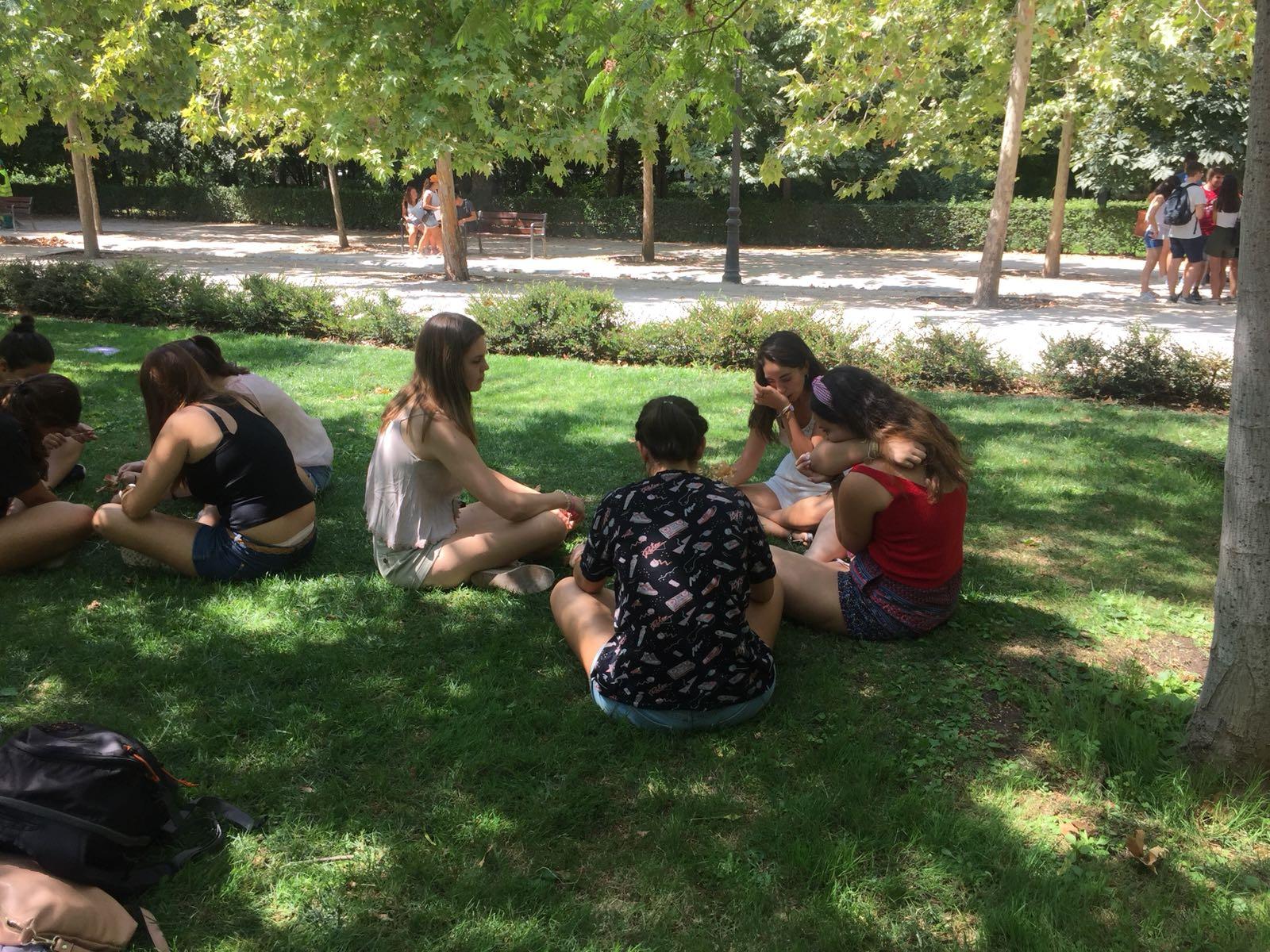 Grupo. curso monitor tiempo libre Madrid