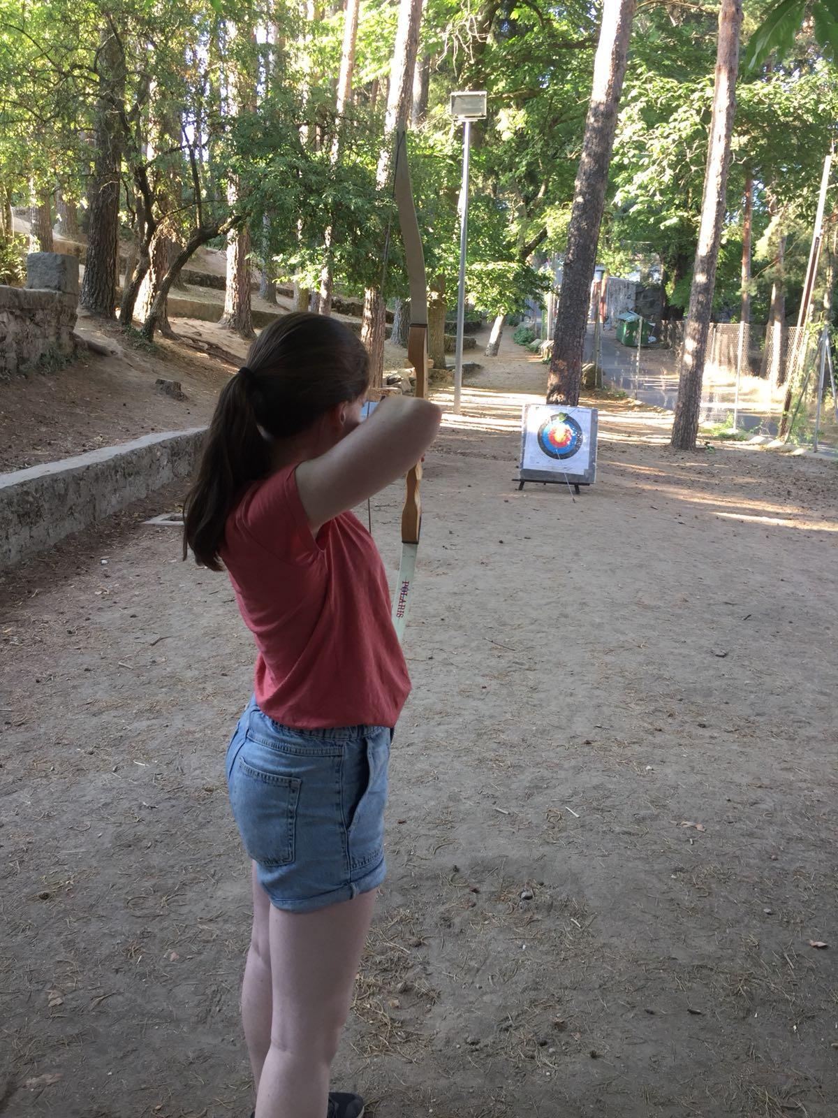Agosto tiro con arco