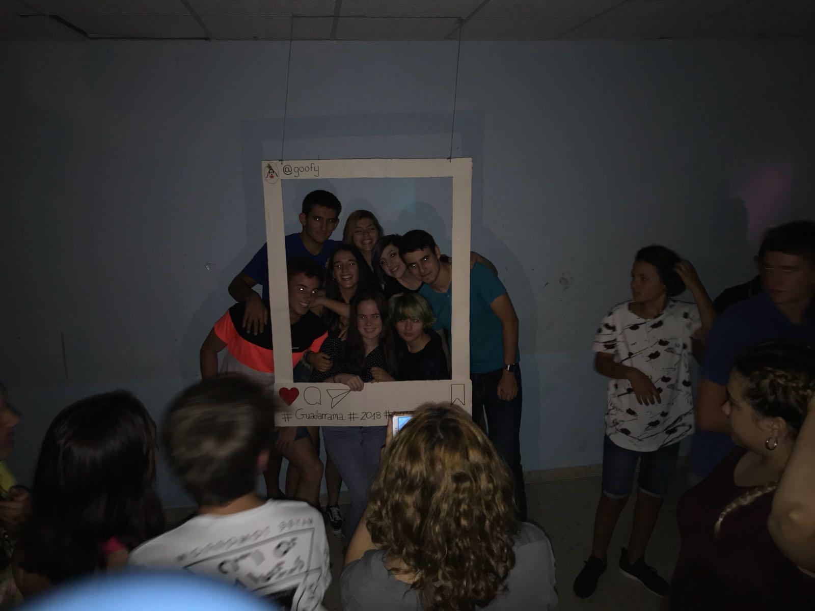 fotocall fiesta Guadarrama