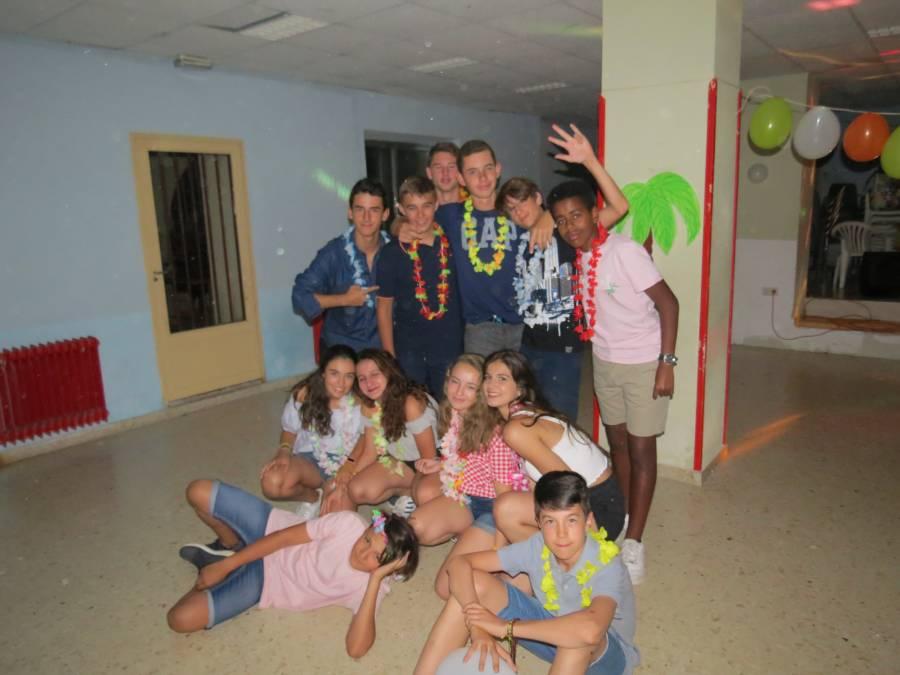 fiesta campamento agosto