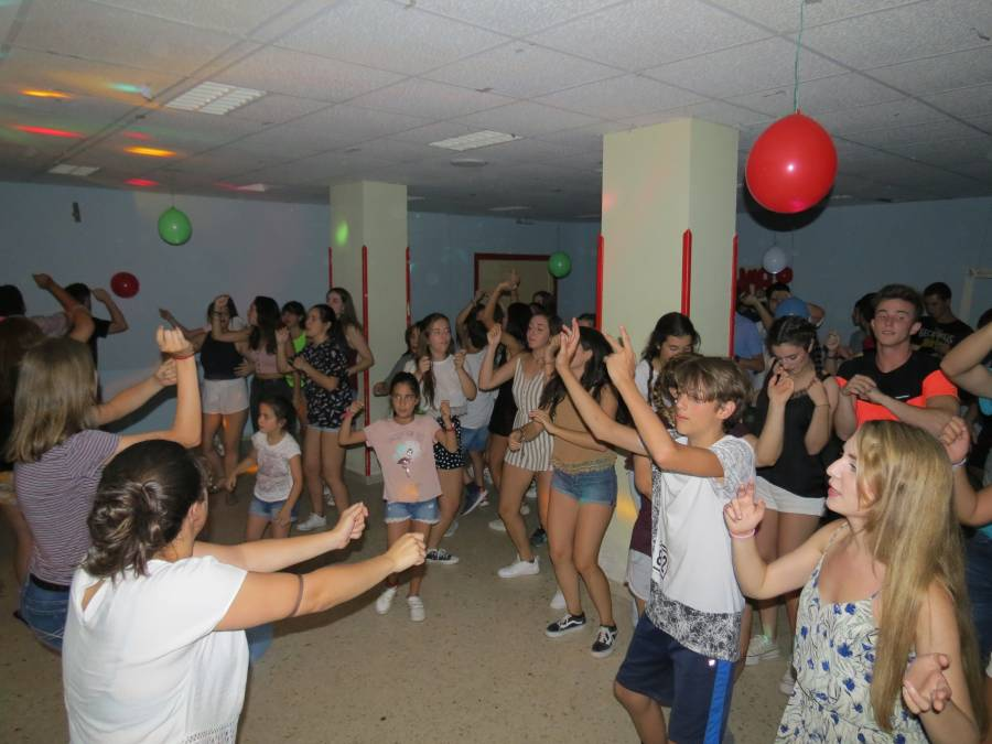 Fiesta conjunta agosto Guadarrama
