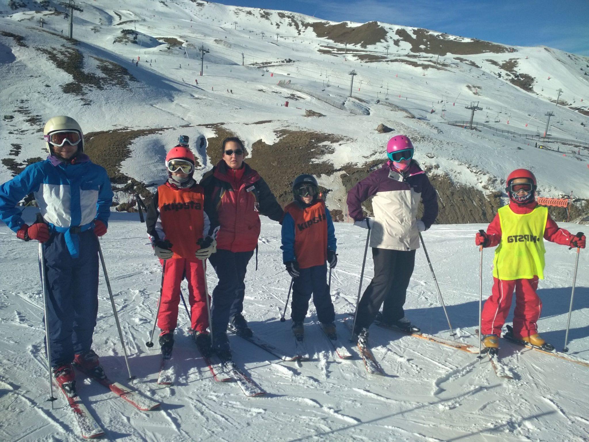 cursos de esqui