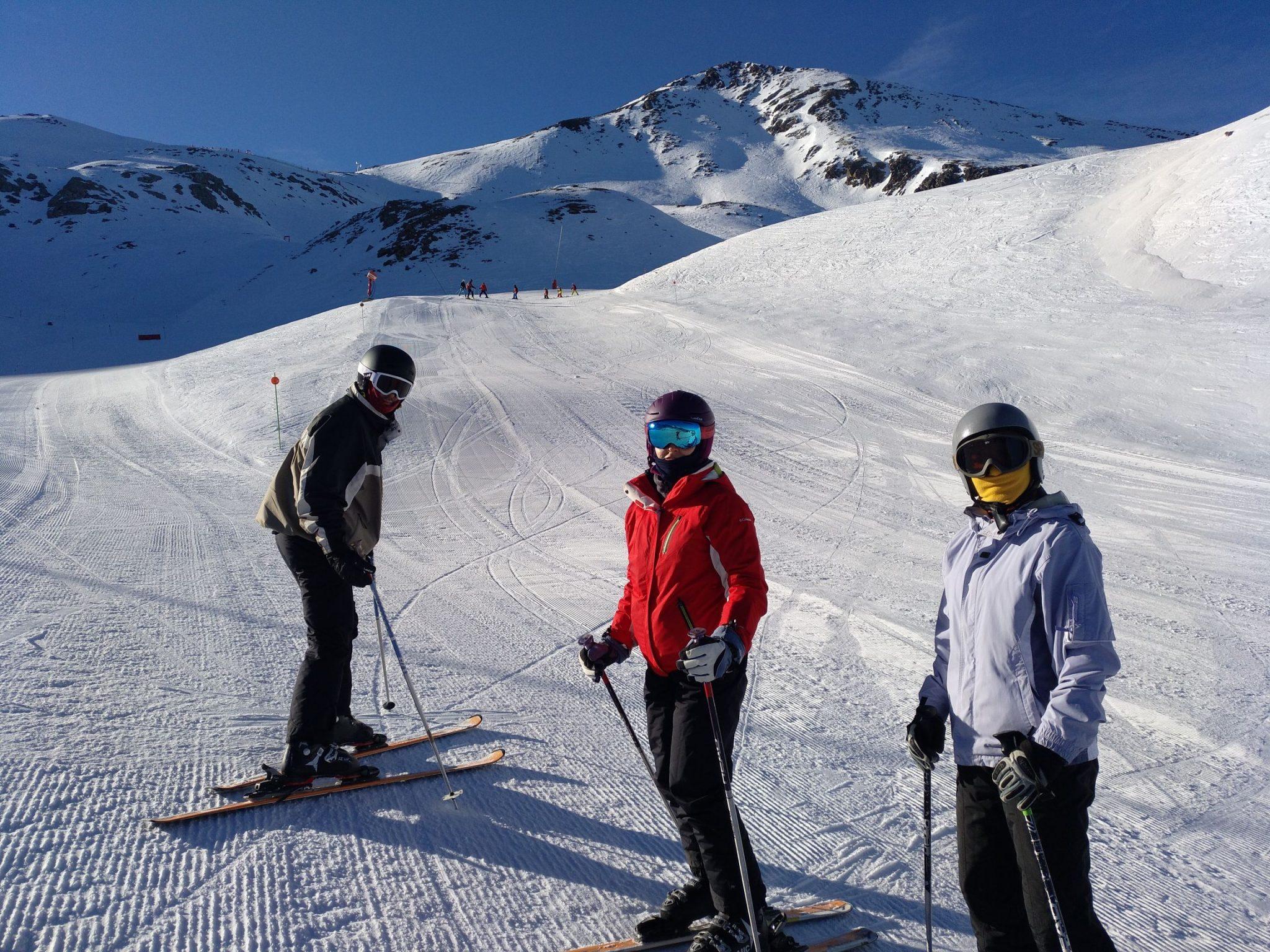 aprender a esquiar en la estacion de ski boi taull