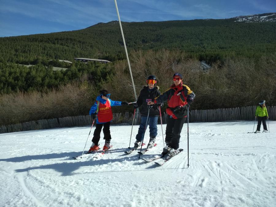 clases para aprender a esquiar Madrid