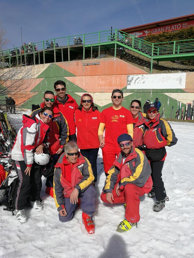Monitores curso de esqui organizado Sábados 2019