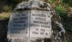 excursion ruta arcipreste de hita en Guadarrama