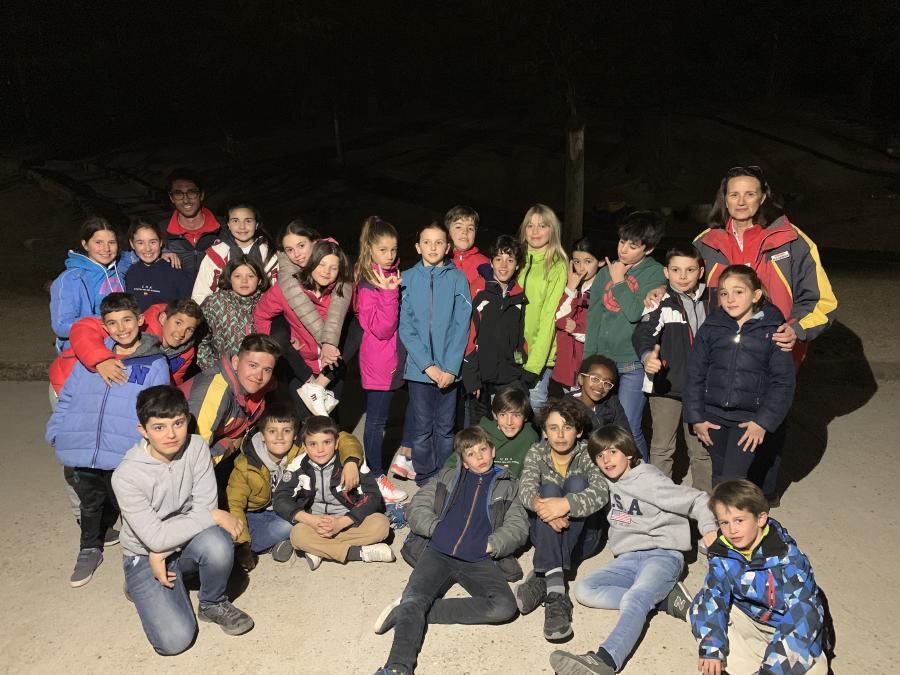 Grupo Curso esqui dias sin cole Semana Blanca