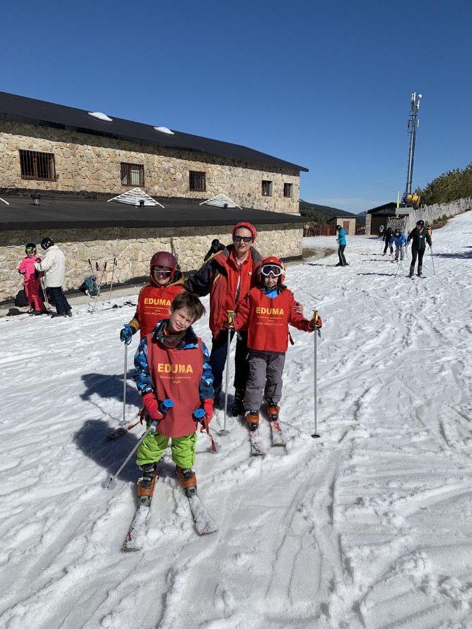 Clases de esqui dias sin cole vacaciones escolares.