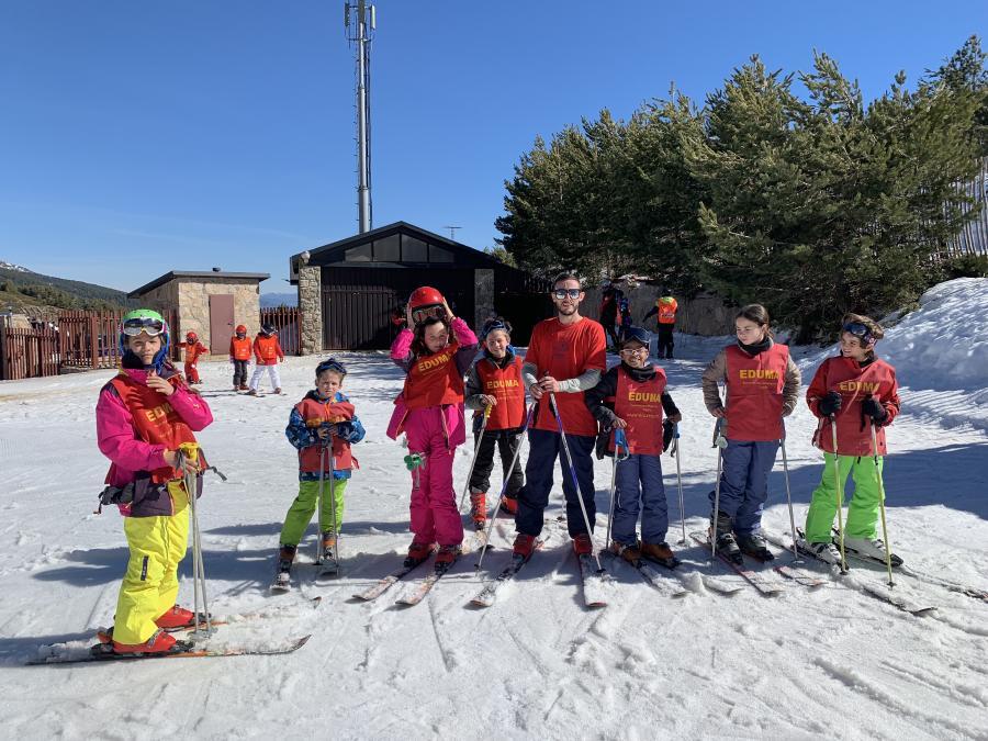Curso esqui dias sin cole vacaciones escolares. Semana Blanca.