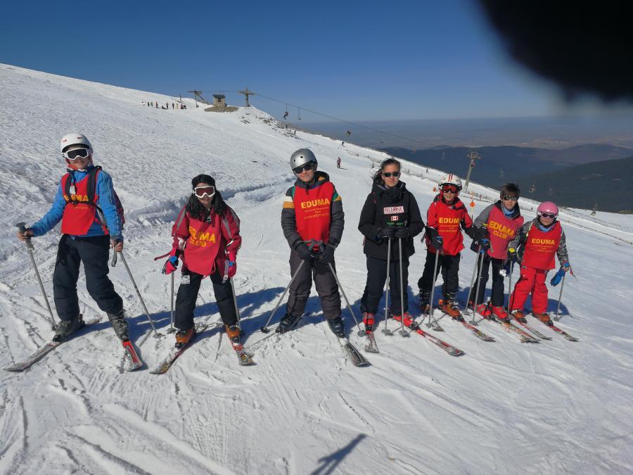 Clases Curso esqui dias sin cole vacaciones escolares. Semana Blanca 2019