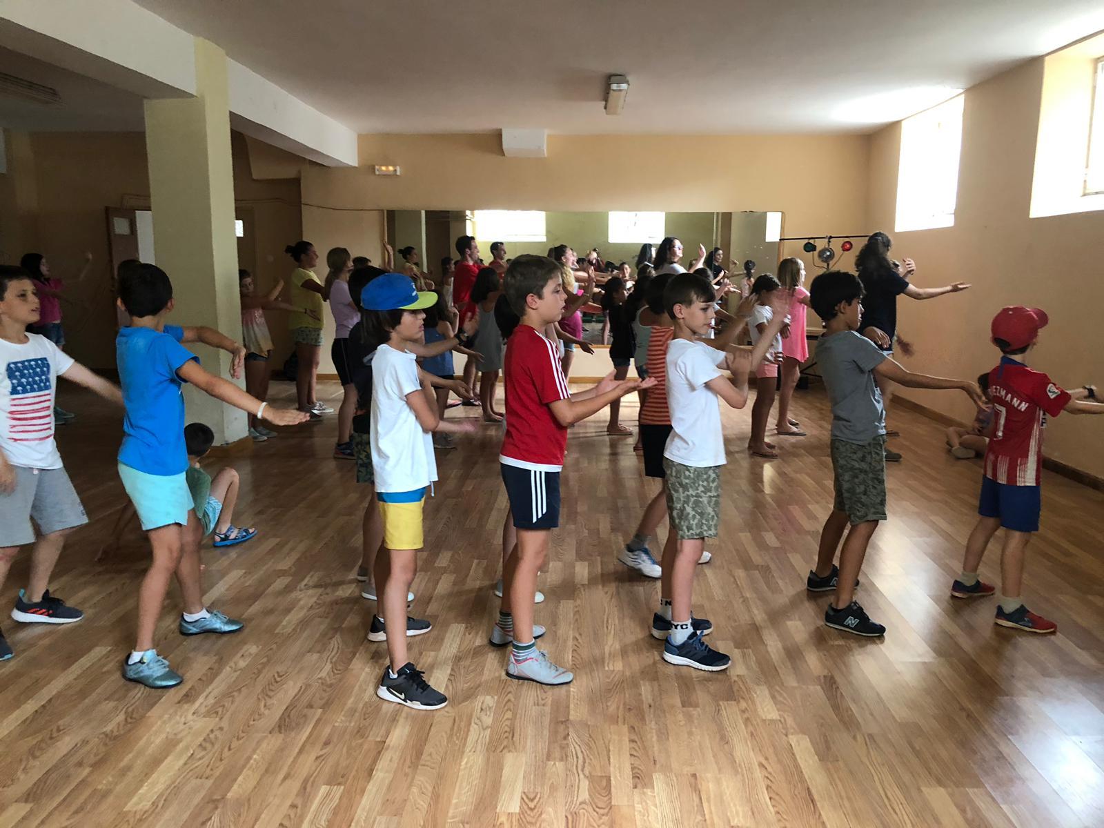 Bailes en el campamentos