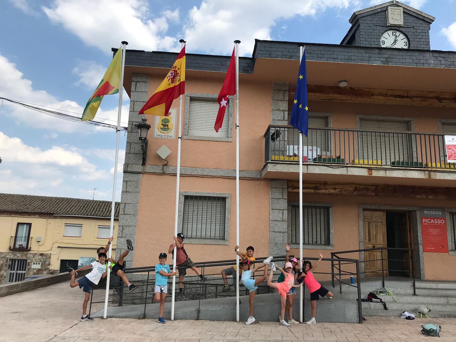 Campamento de verano en julio Sepulveda