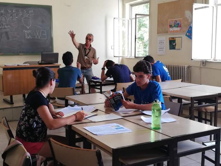 examen del trinity. Inglés campamento Salamanca