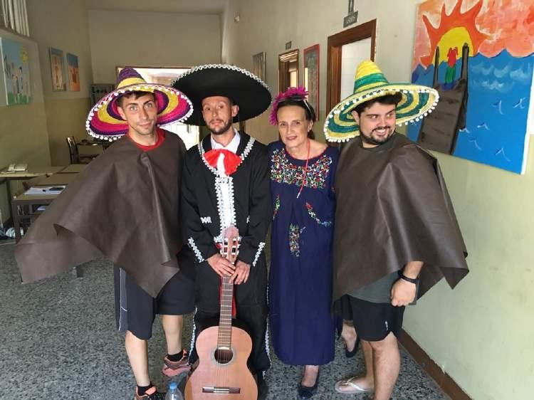Dia tematico. Diario campamento Salamanca y curso inglés y francés 2019