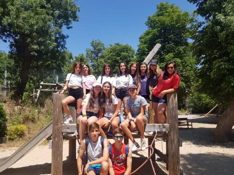 Excursion. Diario campamento Salamanca y curso inglés y francés 2019