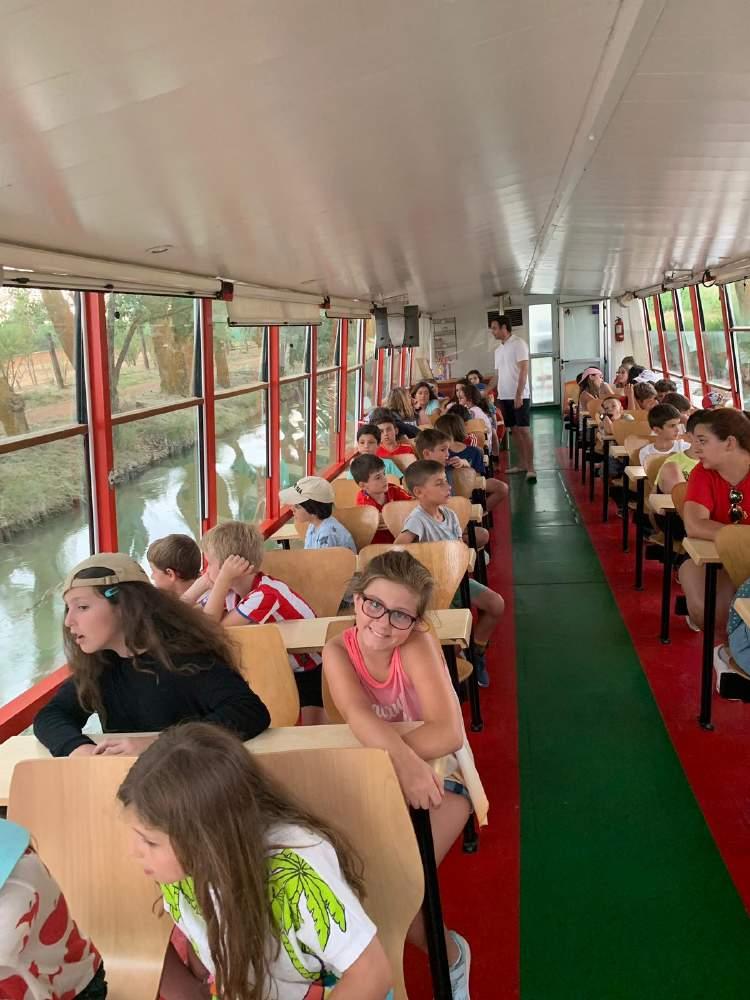 Canal Castilla campamento ingles o frances