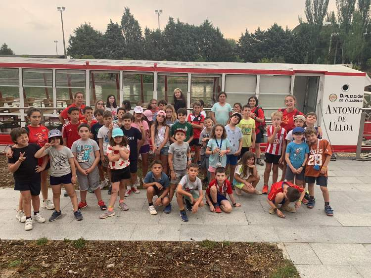 Excursion valladolid Campamento inglés o frances