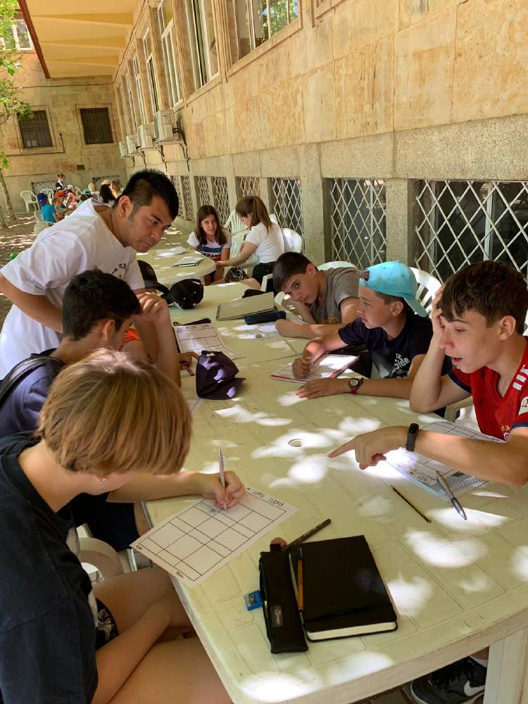 Excursion Diario campamento Salamanca y curso inglés y francés 2019