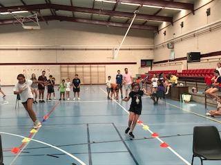 deportes y juegos de campamentos de verano
