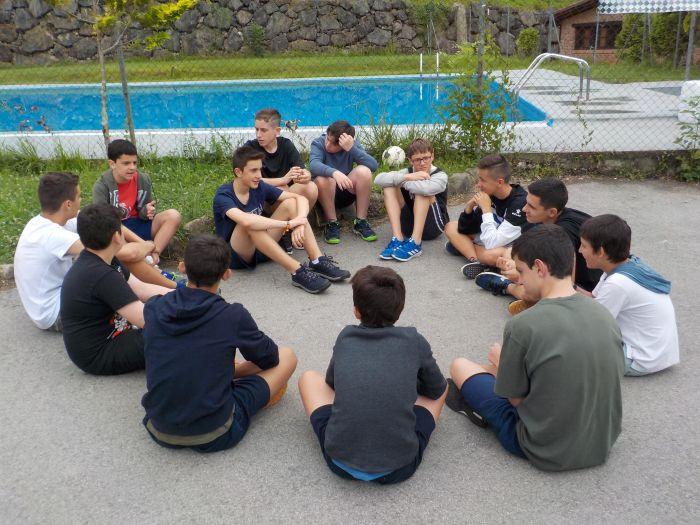campamento con excursiones