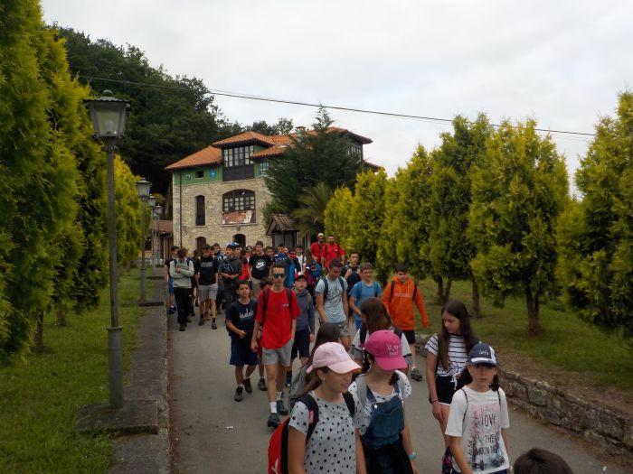 Diario campamento multiaventura Asturias 2019