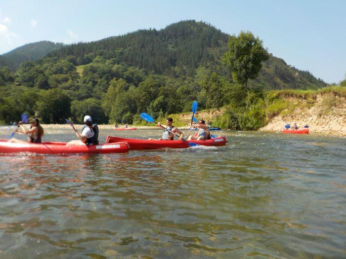 campamento multiaventura de asturias piragua