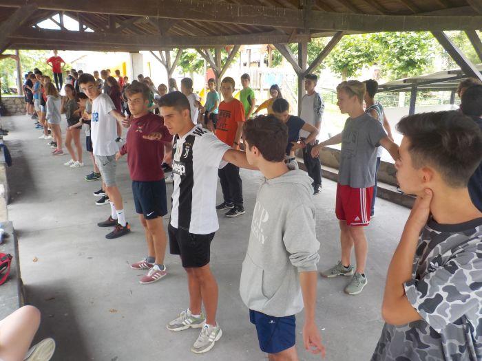 actividades en campamento de asturias