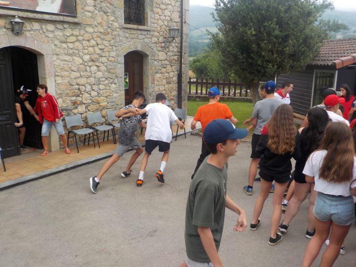 Pruebas Diario campamento multiaventura Asturias 2019