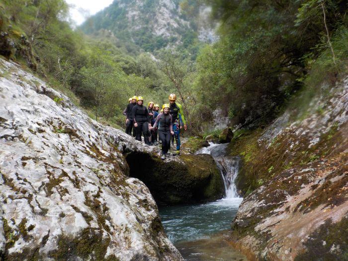 Descenso de barrancos multiaventura Asturias