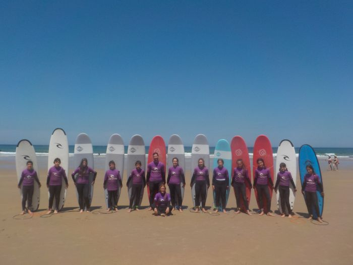 Surf. Excursion. Diario campamento multiaventura Asturias 2019