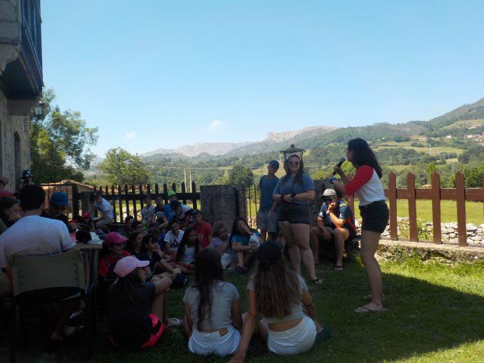 Excursion. Diario campamento multiaventura Asturias 2019