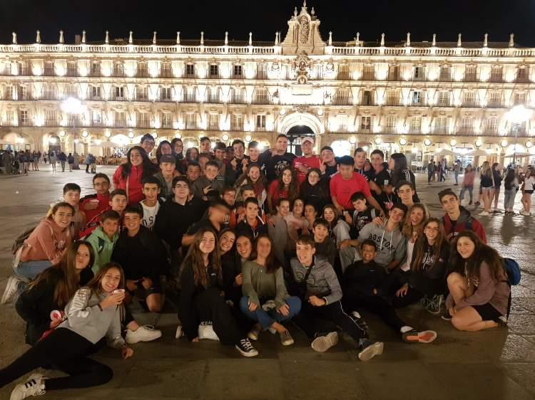 Visita Diario campamento Salamanca y curso inglés y francés 2019