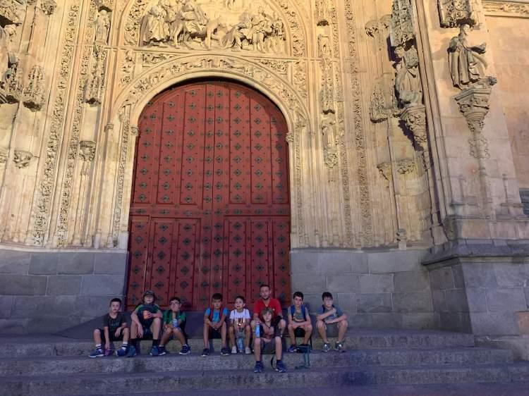 Visita a Salamanca. Campamento inglés o francés.