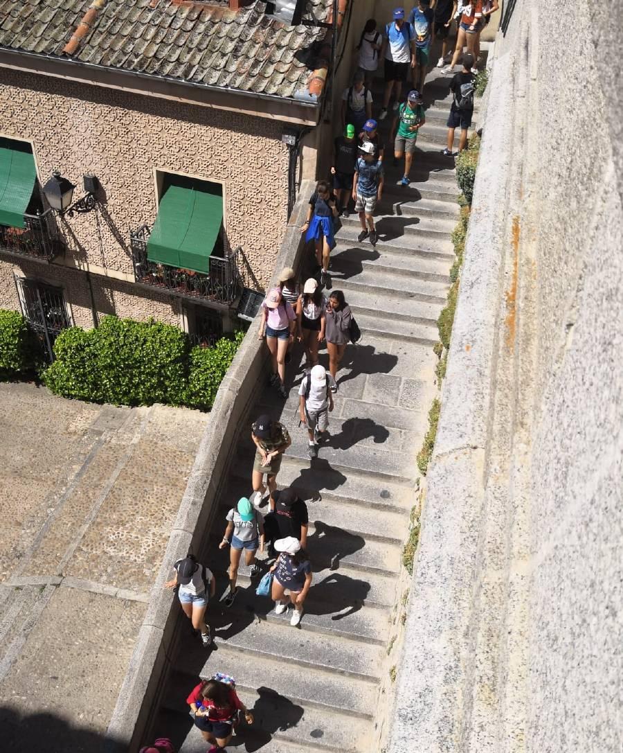 Excursion a Segovia. Campamento de verano julio Sepulveda