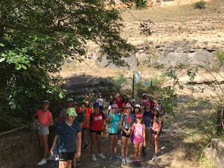 Excursión del campamento de verano