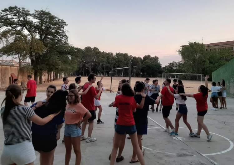 Juegos. Campamento de verano en Salamanca.
