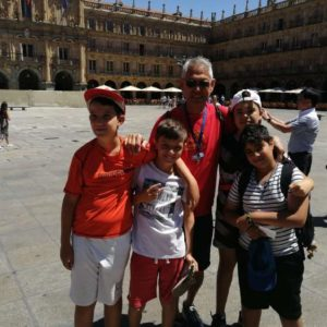 Visita a Salamanca