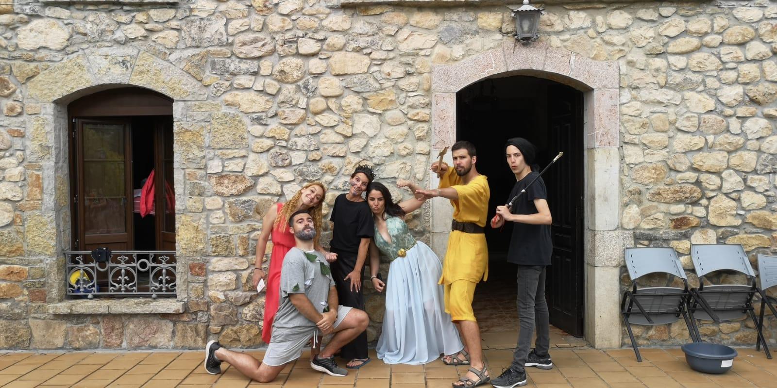 dia tematico en campamento multiaventura de asturias