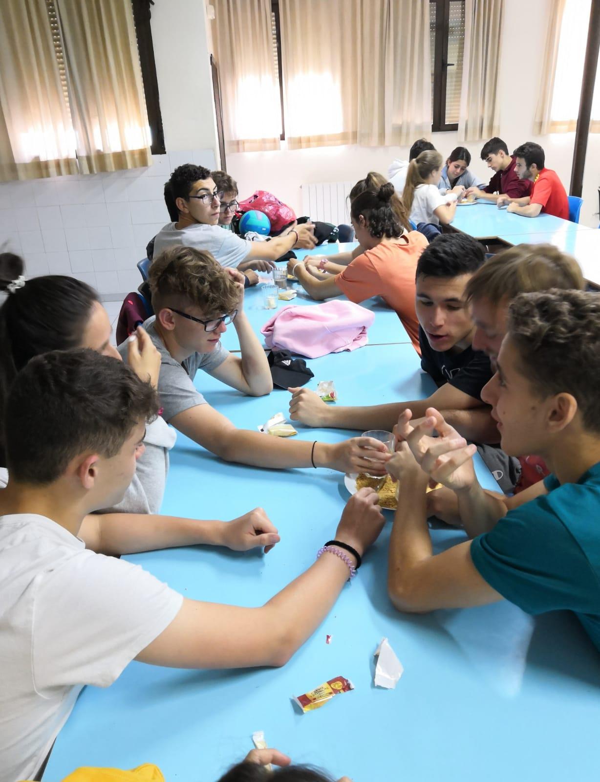 Reposteria en campamento de verano Sepulveda